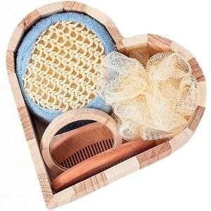 Банный набор в форме сердца, фото