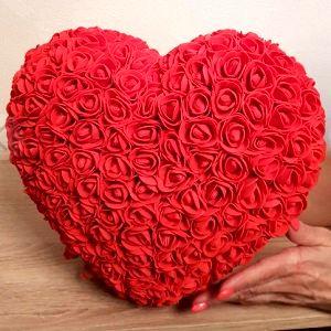 Сердце из роз, фото