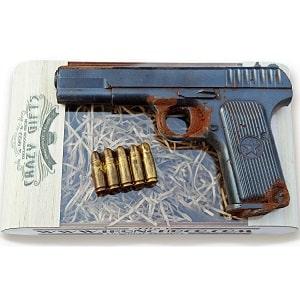 Шоколадный пистолет, фото