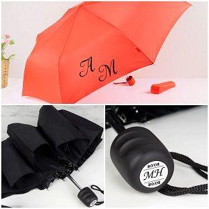 Зонт с инициалами, фото