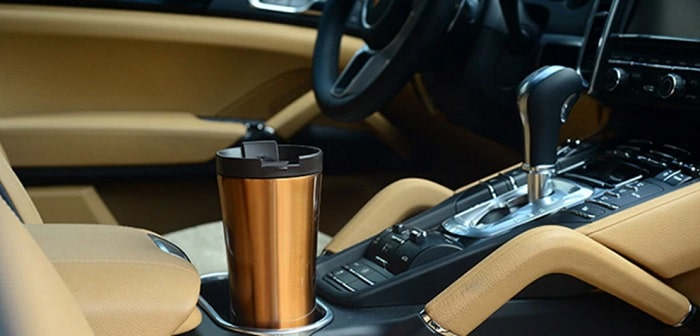 Автомобильная термокружка, фото