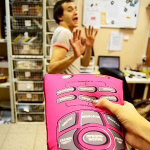 Игрушка антистресс Пульт управления мужчиной, фото