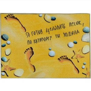 Коврик Песок, по которому ты ходила, фото