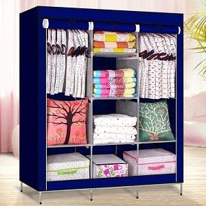 Мобильный тканевый шкаф, фото