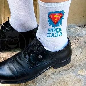 Носки Super папа, фото