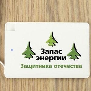 Пауэрбанк Запас энергии Защитника Отечества, фото