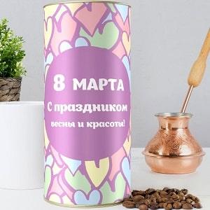 Подарочный кофе С 8 марта, фото