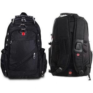 Рюкзак швейцарский с USB и аудио выходами, фото
