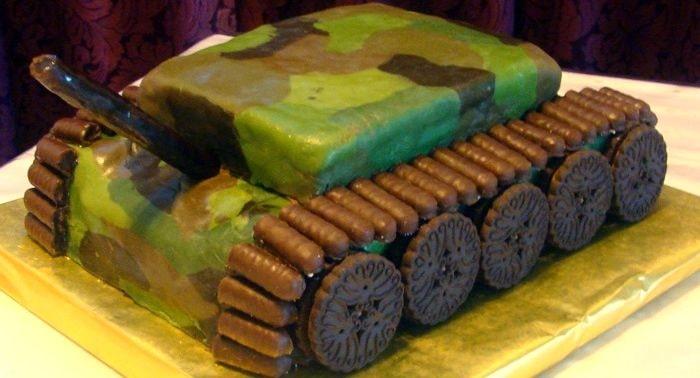 Торт танк, фото