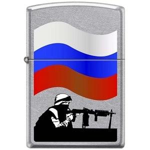 Зажигалка ZIPPO Защитник Отечества, фото