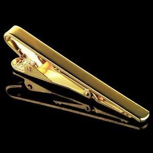 Золотой зажим для галстука