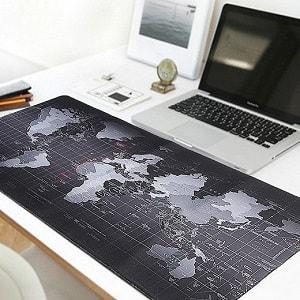 Большой коврик для мыши - Карта Мира, фото