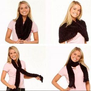 Чудо-шарф трансформер, фото