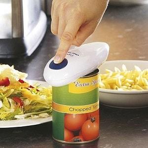 Электрооткрывалка консервных банок, фото