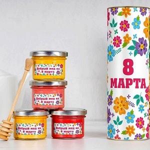 Набор меда Международный женский день, фото
