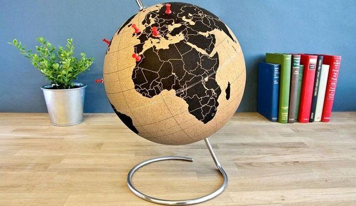 Подарок начальнице глобус, фото