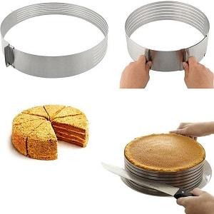 Регулируемая форма для выпечки с нарезкой, фото