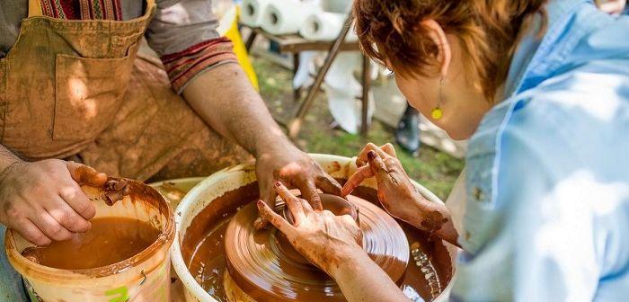 Мастер-класс лепка из глины, фото