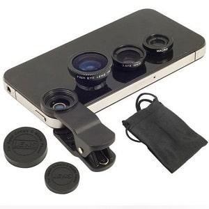 Набор объективов для камеры смартфона, фото