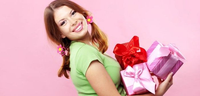 Топ подарков на день рождения девушке
