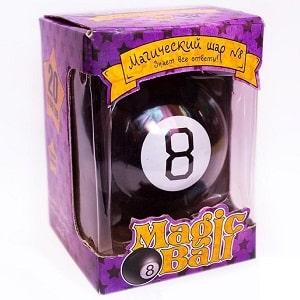 Оригинальный Magic 8 ball на русском языке, фото