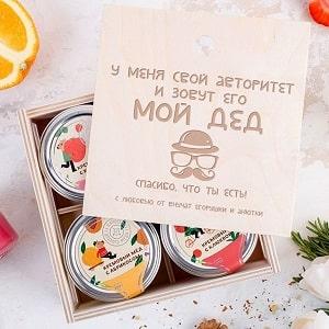 Крем-мёд Дедушке, фото