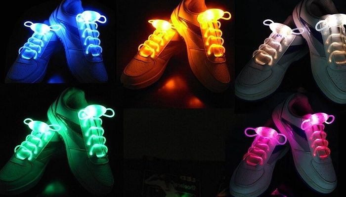 Светящиеся шнурки для кроссовок