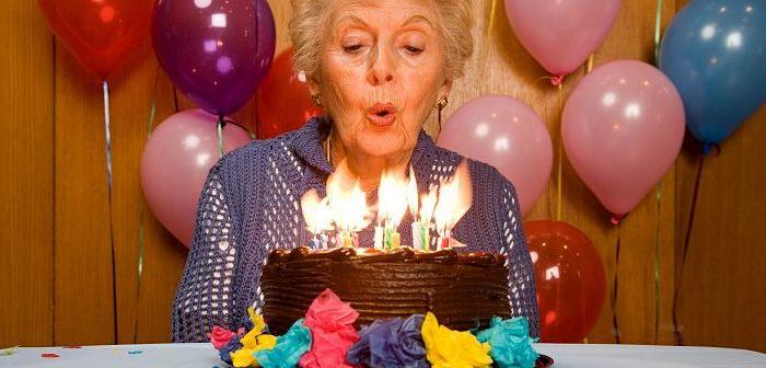 Торт бабушке на день рождения, фото