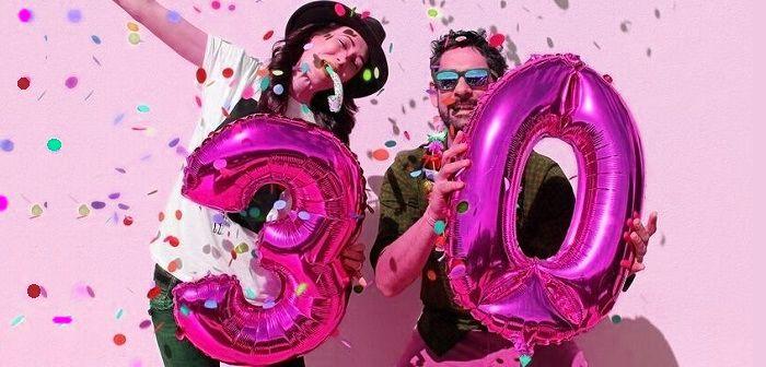 Поздравления девушке с 30-летием, фото