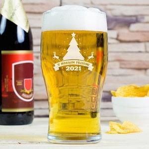 Бокал для пива Новогодний
